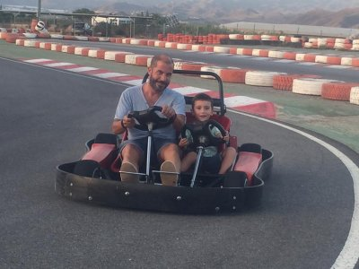 Two-seater kart adults and children 8 min Águilas
