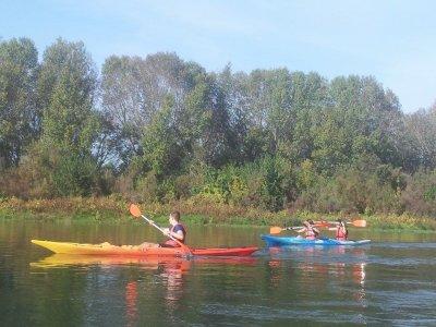 Wine tasting and kayak descent of Ebro river