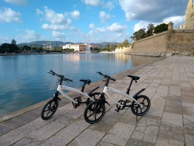 Guided tour on electric bike in Majorca