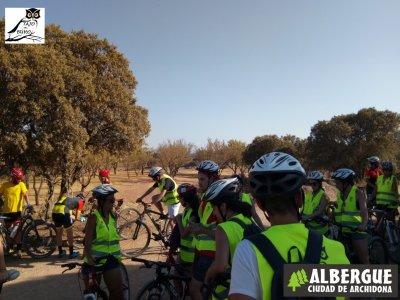 Bike route through Salinas Lagoons 2 hours