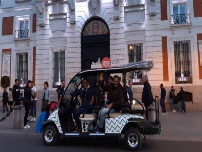 Tour Buggy Alternative Quartiers Madrid 90 min