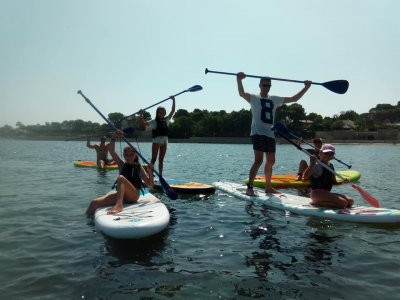Paddle Surf lessons Sailing Easter Denia 5 days