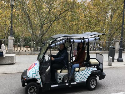 Buggy tour of Madrid through the Centuries 2 hours