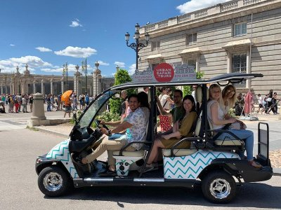 Buggy tour centre of Madrid and surroundings 3 h