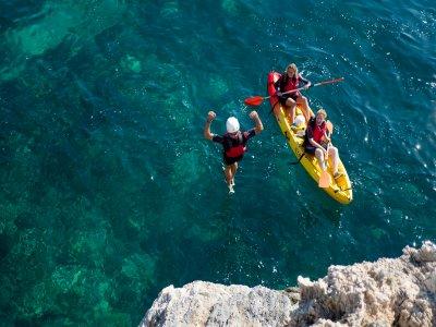 Coasteering and kayak La Herradura beach 3h 30 min