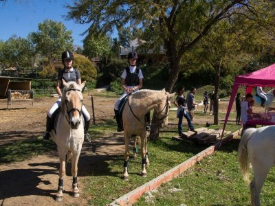 Horse riding and wine tasting Mijas 2h