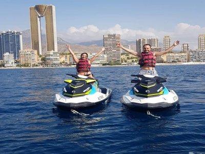 Jet ski tour Cala de Benidorm 30 min