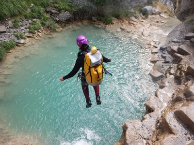 Canyoning initiation in Sant Pere 3h