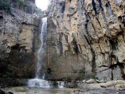 Canyoning medium level Les Espones 4 hours