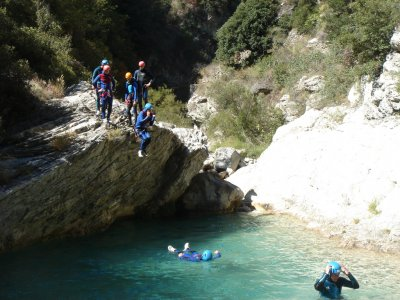 Gurb canyon descent medium level Pallars Jussá 4h