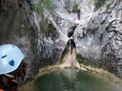 Canyoning in Bóixols medium level 4h