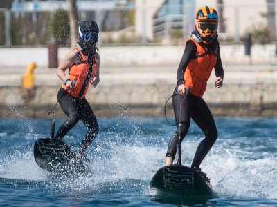Jet Surf Baptism in Port of Alicante 30 min