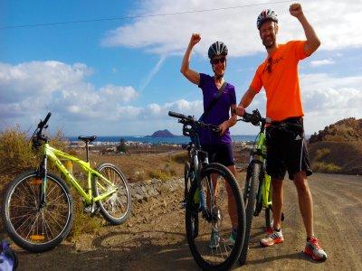 Mountain bike rental in Corralejo for a day