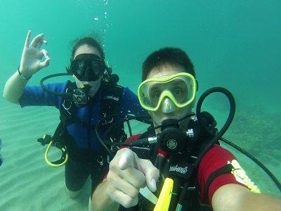 Diving baptism in Tarragona 3 hours