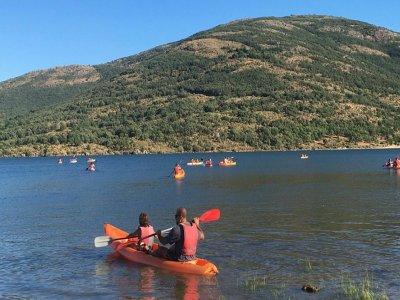 Stag/Hen do aquatic adventure in Lozoya 3h