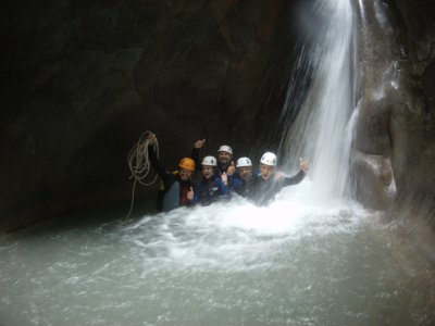 Canyoning descent Barranco del Infierno 3 hours
