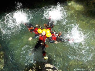 Gorgo de Escalera canyon for Stag/Hen Dos in Anna