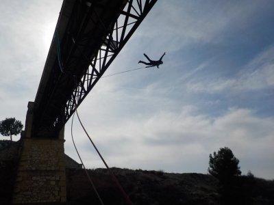 Bungee jumps for bachelor parties Villena & photos