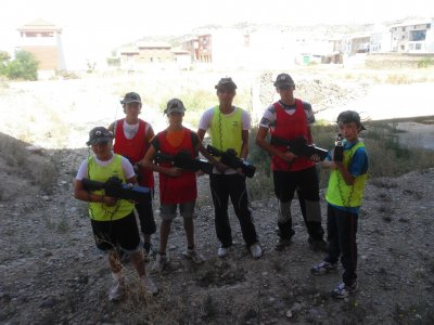 Outdoor Paintball Castejon Laser Tag