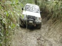 Plowing through the mud
