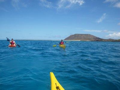 Kayak class in Corralejo 2-3 hours