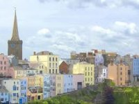 Stunning views of the village of Tenby