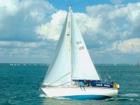 Our sailing boat Snow Goose