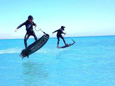 Jet surf rental residents Dénia 1 hour