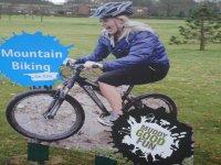 Mountain biking in Chester.