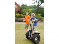 Segways are also available.