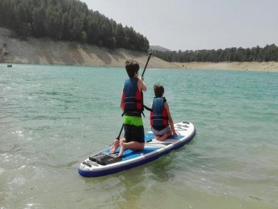 Birthday Multi-adventure kayak & SUP Cubillas 2 h