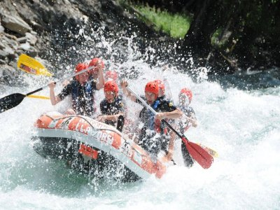 Rafting descent route 2h Llavorsí to Rialp