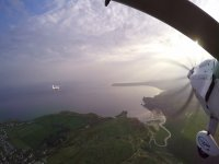 The stunning views at Gower Flight Centre
