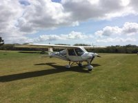 The aircraft at Gower Flight Centre