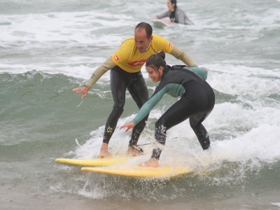 Surfing class in Somo 2 hours