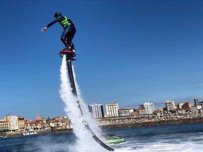 Flyboard session in Poniente beach Gijón 20 min