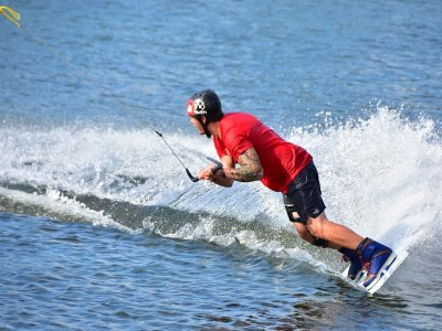 Wakeboard in Gijón with photo for 30 min