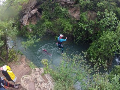 Canyoning for beginners, La Glorieta 5-6 hours