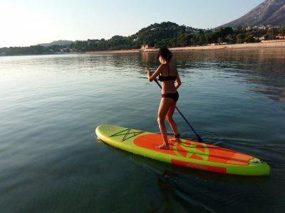 Surf board rental in Dénia 1 h
