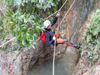 Canyon descent La Toba High Level Picos de Europa