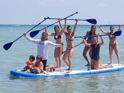 Big SUP board rental in Dénia 1 hour