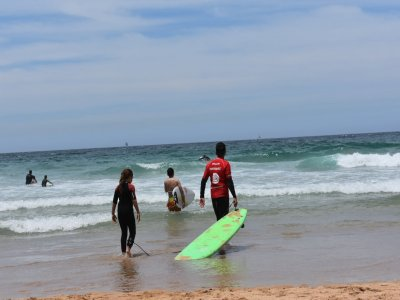 Private surfing lesson 10 hours in Dénia