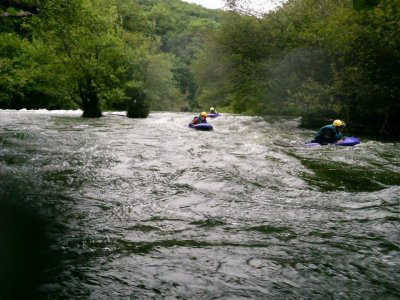 Hydrospeed white waters 3h river Deva/Alto Ebro