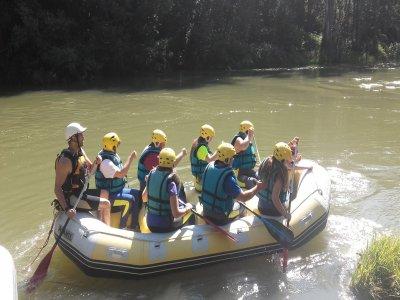 Rafting descent river Deva medium level, 2h