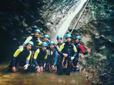 Canyoning descent Pedroso Level II children, 3h