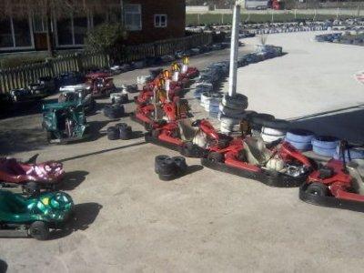 Karting for kids aged 5. 8-min batch.