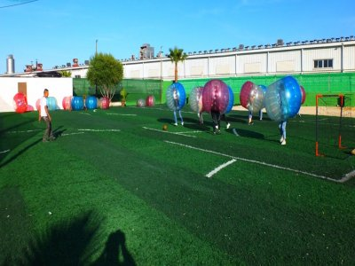 Bubble Football Game 30 minutes Gandía