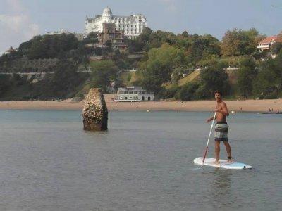Paddle Surf trip Magdalena beach 2h Santander