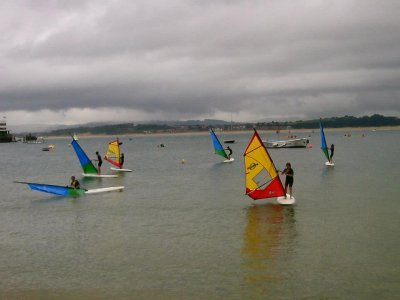 Windsurfing course 10 hours Santander