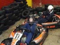 Racing around the track
